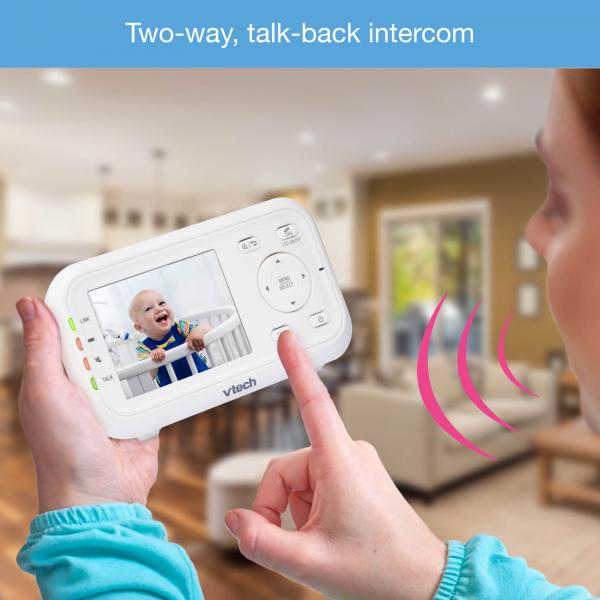 Videointerfon digital bidirectional 2.8 inch VM3255 cu melodii si infrarosu - Vtech [5]