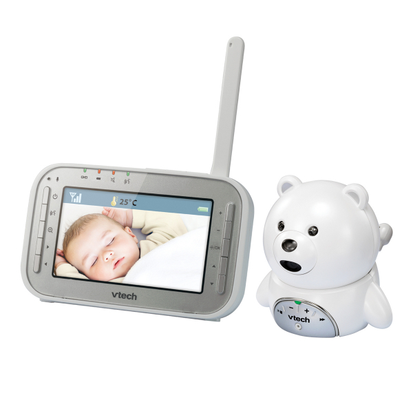 Videointerfon digital bidirectional 4,3 inch BM4200, include melodii si termometru - Vtech [0]