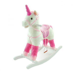 Balansoar de plus NEFERE Calut Unicorn Alb0