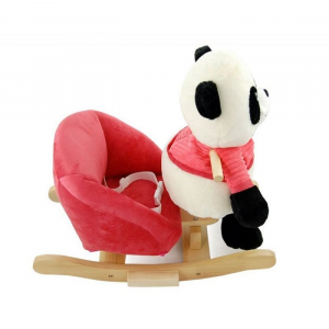 Balansoar de plus NEFERE Panda Pink5