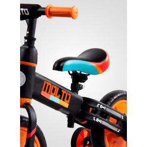 Bicicleta cu sau fara pedale si roti ajutatoare Sun Baby Molto 0144