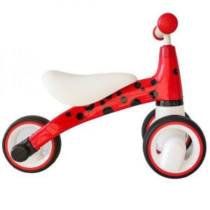 Bicicleta fara pedale ECOTOYS Buburuza LB1603 - Rosu3