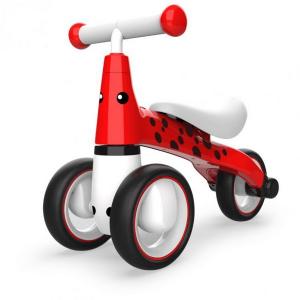 Bicicleta fara pedale ECOTOYS Buburuza LB1603 - Rosu0