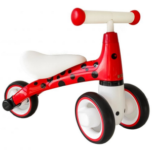 Bicicleta fara pedale ECOTOYS Buburuza LB1603 - Rosu2