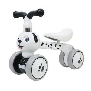 Bicicleta fara pedale Ecotoys Catel LC-V1308 - Alb0