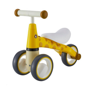 Bicicleta fara pedale Ecotoys LB1603 - Galben5