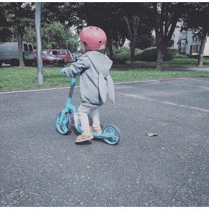 Bicicleta fara pedale/trotineta Sun Baby 007 EVO 360 PRO Blue7