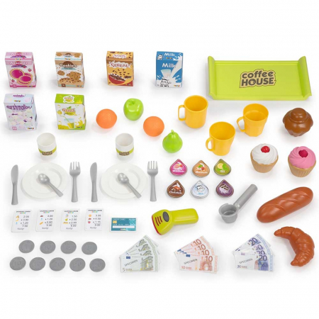 Cafenea pentru copii Smoby cu accesorii [1]