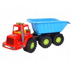 Camion pentru copii Marmat XXL, cabina rosie [1]