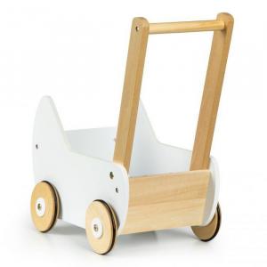 Carucior pentru papusi din lemn Ecotoys ESC-W-0173 [2]