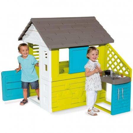 Casuta pentru copii Smoby Pretty cu bucatarie [1]