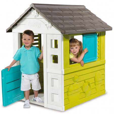 Casuta pentru copii Smoby Pretty Playhouse [0]
