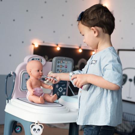 Centru de ingrijire pentru papusi Smoby Baby Care Center cu papusa si accesorii [19]