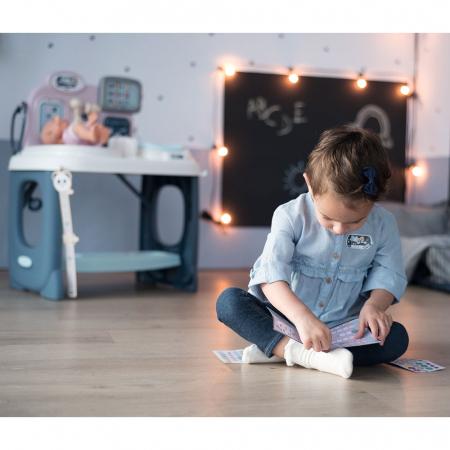 Centru de ingrijire pentru papusi Smoby Baby Care Center cu papusa si accesorii [23]