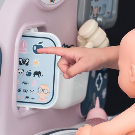Centru de ingrijire pentru papusi Smoby Baby Care Center cu papusa si accesorii [14]