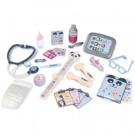 Centru de ingrijire pentru papusi Smoby Baby Care Center cu papusa si accesorii [2]