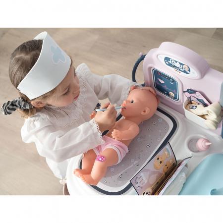 Centru de ingrijire pentru papusi Smoby Baby Care Center cu papusa si accesorii [12]