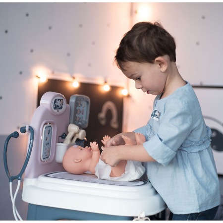 Centru de ingrijire pentru papusi Smoby Baby Care Center cu papusa si accesorii [21]