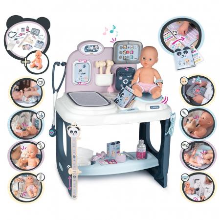 Centru de ingrijire pentru papusi Smoby Baby Care Center cu papusa si accesorii [1]