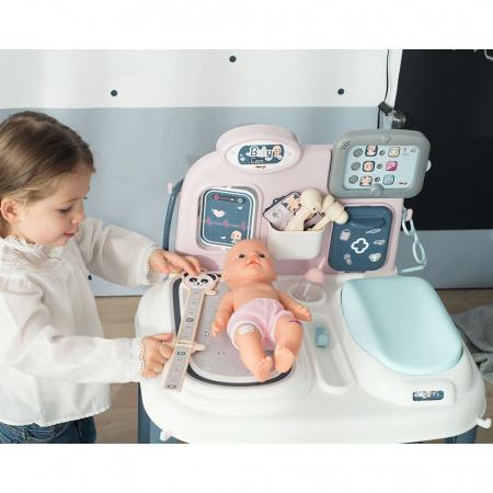Centru de ingrijire pentru papusi Smoby Baby Care Center cu papusa si accesorii [10]