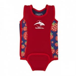 Costum termoreglabil din neopren pentru bebelusi BabyWarma Strawberry 0-6 luni - Konfidence [1]