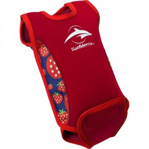 Costum termoreglabil din neopren pentru bebelusi BabyWarma Strawberry 0-6 luni - Konfidence [0]