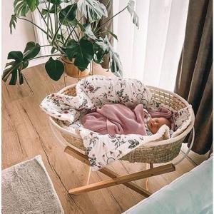 Cosulet bebe pentru dormit handmade din material ecologic Ahoj Baby natur [0]