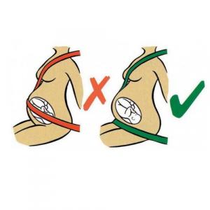 Deviator centura de siguranta auto pentru gravide cu sistem de ancorare dublu - Olmitos [4]