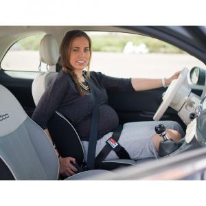 Deviator centura de siguranta auto pentru gravide cu sistem de ancorare dublu - Olmitos [0]