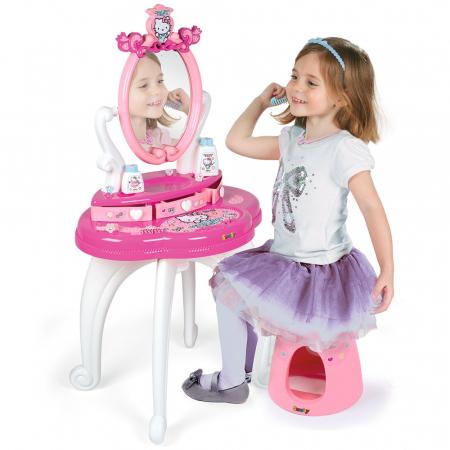 Jucarie Smoby Masuta de machiaj Hello Kitty Hairdresser 2 in 1 [5]