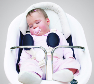 Reductor bebelusi - Mima Baby Headrest1