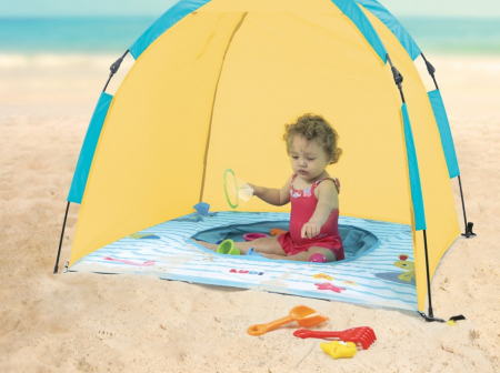 Ludi Cort de plaja UV50 cu minipiscina [2]