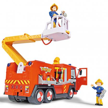 Masina de pompieri Simba Fireman Sam Mega Deluxe Jupiter cu 2 figurine si accesorii [3]