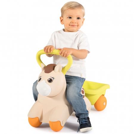 Masinuta de impins Smoby Baby Pony [3]