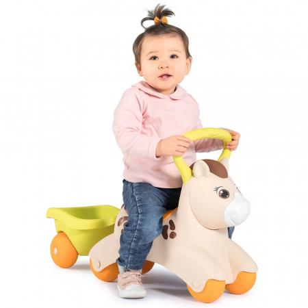 Masinuta de impins Smoby Baby Pony [5]
