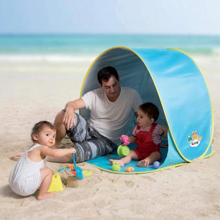 Pachet-Minipiscina de plaja cu jucarii 123 SOARE+Cort UV50 Sun Set [4]
