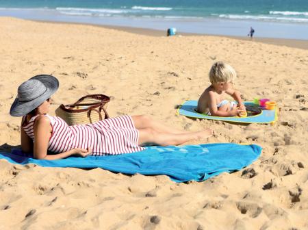 Pachet-Minipiscina de plaja cu jucarii 123 SOARE+Cort UV50 Sun Set [7]