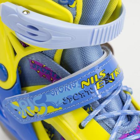 Patine reglabile copii albastru/galben NH1105A - Nils [6]