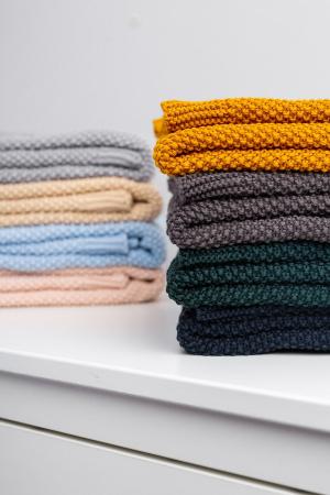 Paturica de bumbac tricotata Sensillo 100x80 cm [1]