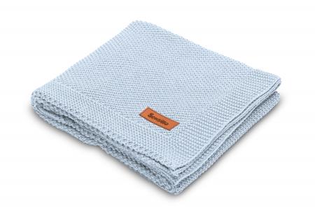 Paturica de bumbac tricotata Sensillo 100x80 cm [0]
