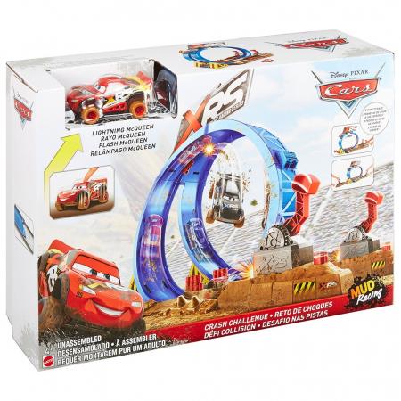 Pista de masini Disney Cars by Mattel XRS cu masinuta [6]