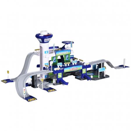 Pista de masini Majorette Creatix Aeroport cu 5 vehicule [0]