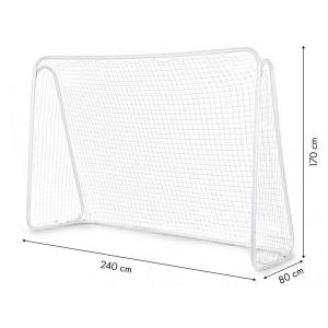 Poarta cu net pentru antrenament fotbal ECOTOYS, 240x170 cm2