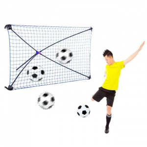 Poarta de fotbal pliabila Rebound cu unghi ajustabil ODS2055 - Net Playz [0]