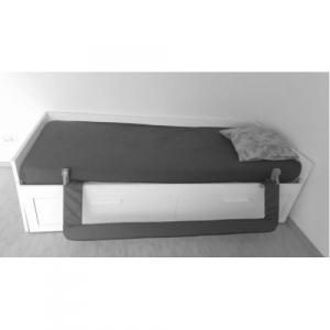 Protectie pat rabatabila pentru somiera adancita 150 cm alb - Olmitos [3]