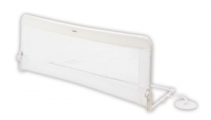 Protectie pat rabatabila pentru somiera adancita 150 cm alb - Olmitos [0]