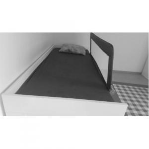 Protectie pat rabatabila pentru somiera adancita 150 cm alb - Olmitos [2]