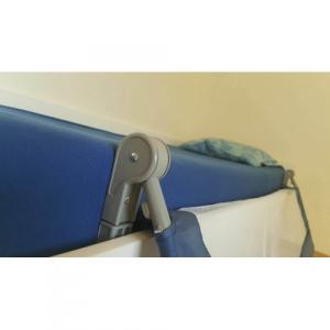 Protectie pat rabatabila pentru somiera adancita 150 cm marine - Olmitos [5]