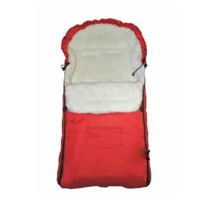Sac de iarna pentru carucior cu interior din lana pentru 0-3 ani rosu - Camicco [0]