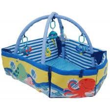 Saltea de joaca cu protectii laterale Boat - Baby Mix [2]